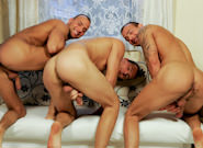 Gay Orgy GroupSex : Triplets Gone Wild - Jason Visconti -amp; Jimmy Visconti -amp; Joey Visconti!