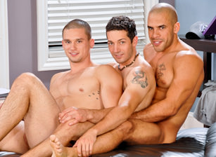 On The Set - Austin Wilde & Anthony Romero & Silas O'Hara