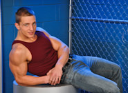 Gay Muscle Men : On The Set - Marcus Mojo Solo - Marcus Mojo!