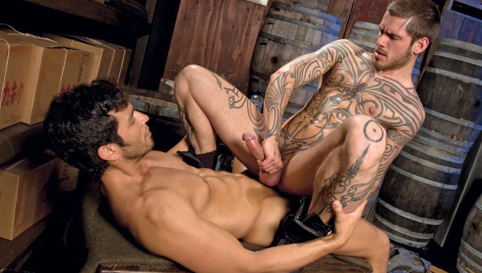 Admirable morning males scene 4