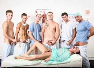 Sex Clinic Gangbanger, Scene #01