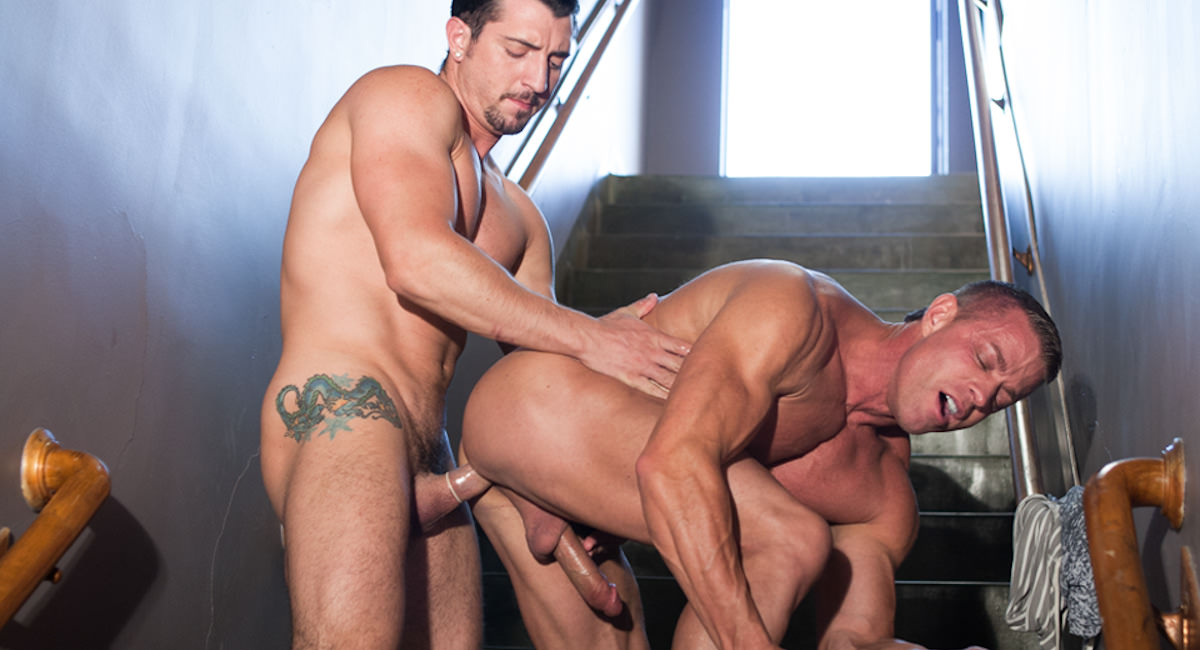 Gay Orgy GroupSex : Jimmy Durano And Tyler Saint - Tyler Saint -amp; Jimmy Durano!