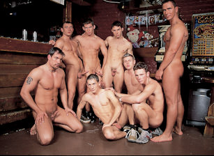 Group Orgy With Tyson, Terence, Justin, Rick And Other