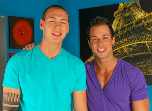 On The Set - Rod Daily & Jay Cloud