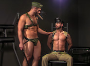 Gay Videos XXX : ARMOUR - Bob Hager -amp; Dolan Wolf!
