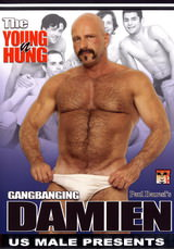 The Young n Hung Gangbanging Damien Dvd Cover