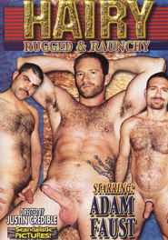 Hairy Rugged and Raunchy DVD Cover