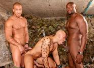 Gay Ebony Studs : perversions Punishment - Jordano Santoro -amp; Kiern Duecan -amp; Yates!