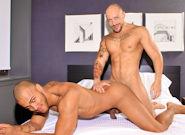 Gay Ebony Studs : Wake-up sex - Jordano Santoro -amp; Kiern Duecan!