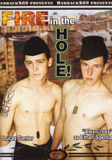 Fire in the hole Dvd Cover