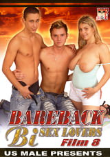 Bareback Bi Sex Lovers #08 Dvd Cover
