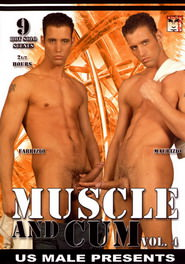 Muscle And Cum #04 DVD Cover