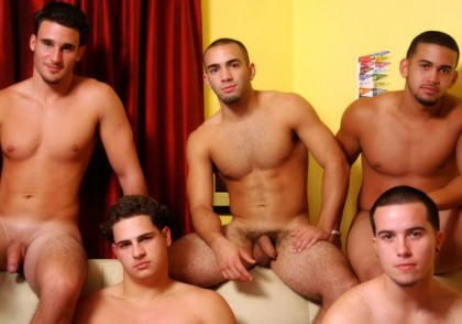 5 Guys Named..., Scene #01