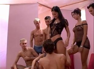 The Art Of Bi Orgy, Scene #01