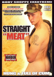 Straight Meat Hung And Full Of Cum #01 DVD Cover