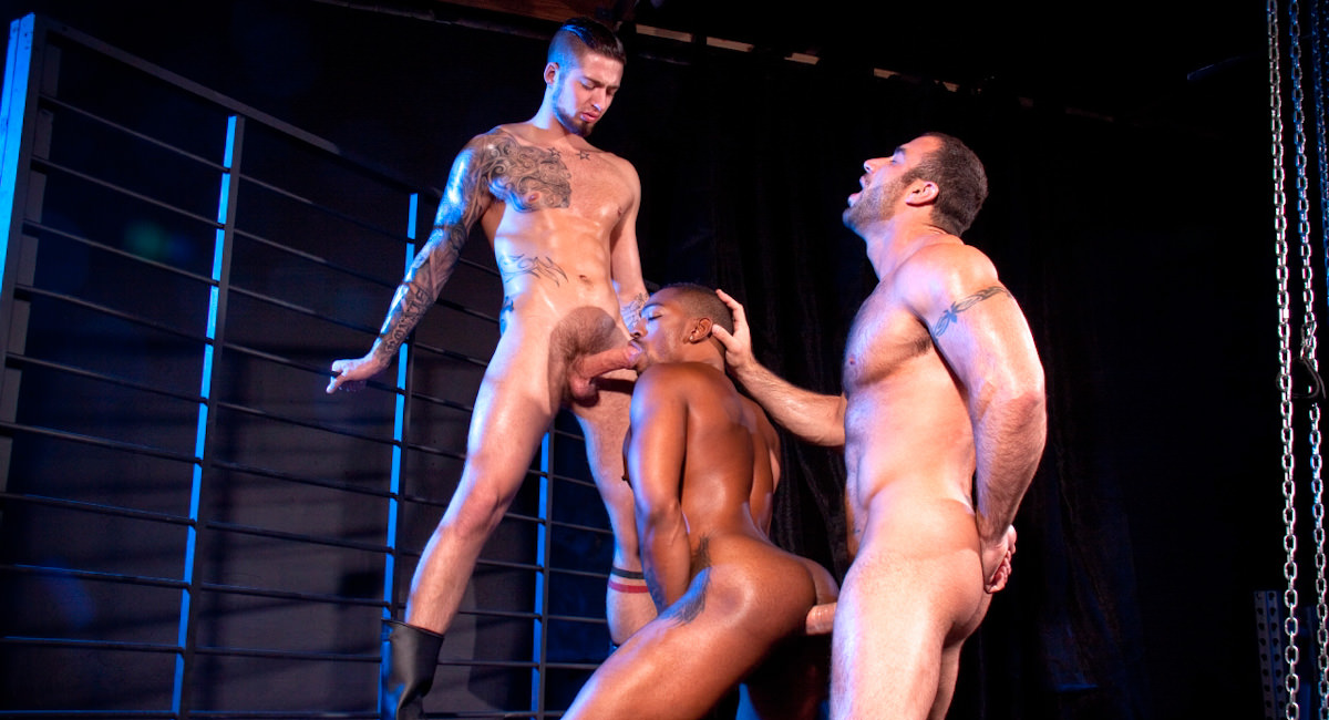 Raging Stallion: Spencer Reed, Colin Black & Troy Haydon - Fucked Down
