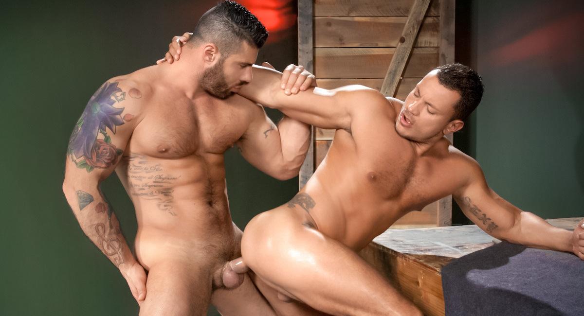 Raging Stallion: Angelo Marconi & Alex Marte - Throb