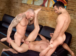 Sexo In Barcelona - Part 1 : Marc Dylan, Francesco D'Macho, Frederic Duris