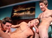 Gay Twinks Sex : Penal Code 3 - Andy Taylor -amp; Oli Gold -amp; Alexx Thomas!