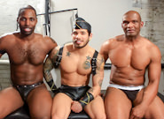 Gay Ebony Studs : lads Will Bang Boys - Nubius -amp; Draven Torres -amp; Montaz!
