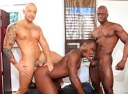 Gay Ebony Studs : Park Cruisers - Jordano Santoro -amp; Jay Black -amp; Damian Brooks!
