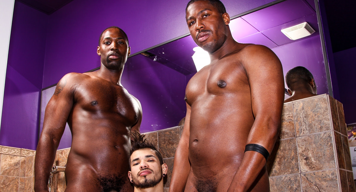Gay Ebony Studs : Potty Mouth - Nubius -amp; Draven Torres -amp; JP Richards!
