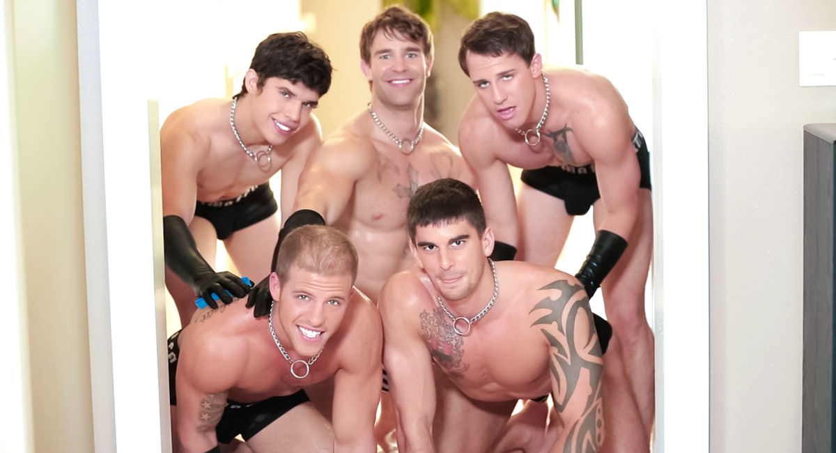 Gay Muscle Men : Muscle Maid Services - Tyler Torro -amp; Christian Cayden -amp; Conner Hastings -amp; Hugh Jazz -amp; Taylor Wolf!