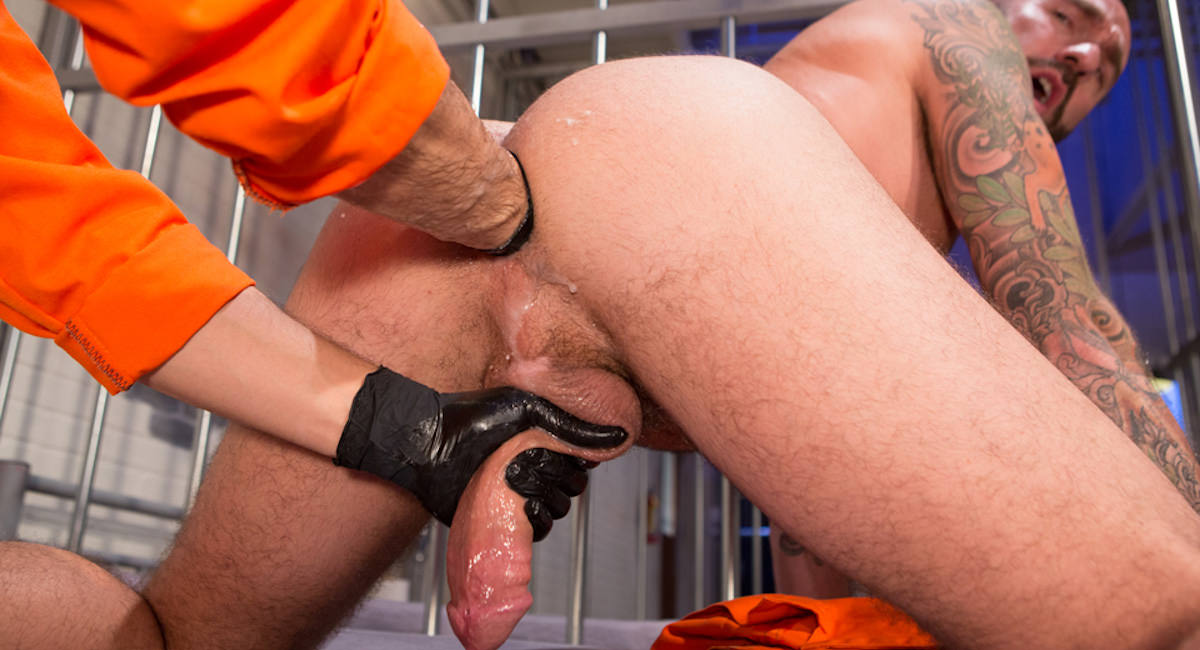 Gay Fisting Fuck : Long Arm Of The Law Part 2 - Drew Sebastian -amp; Dylan Strokes