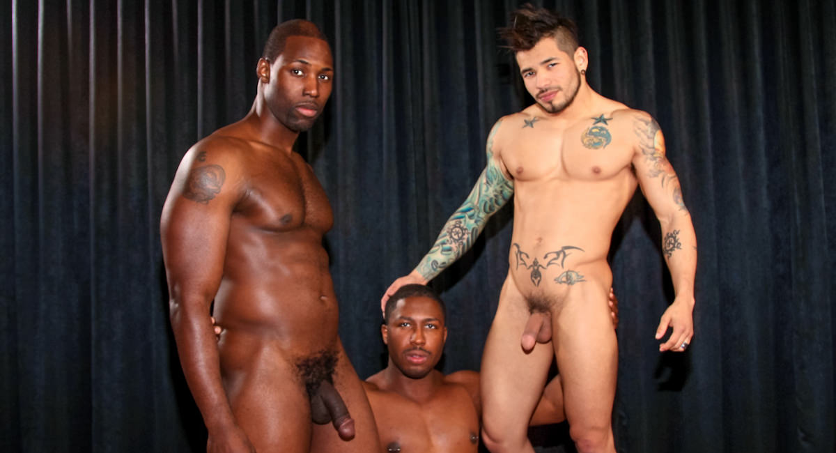 Gay Ebony Studs : Making the Cut - Nubius -amp; Draven Torres -amp; JP Richards!