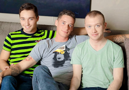 Tyler Morgan, Sean Christian & Aiden Conners - Interview