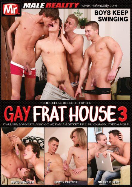 Gay Frathouse #03 DVD Cover