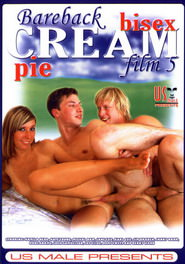 Bareback Bisex Cream Pie #05 DVD Cover