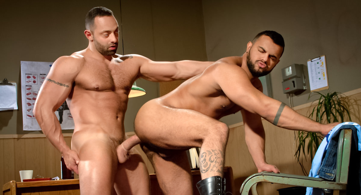Falcon Studios: Part 1 - Fabio Stallone & Tony Orion - San Francisco Meat Packers