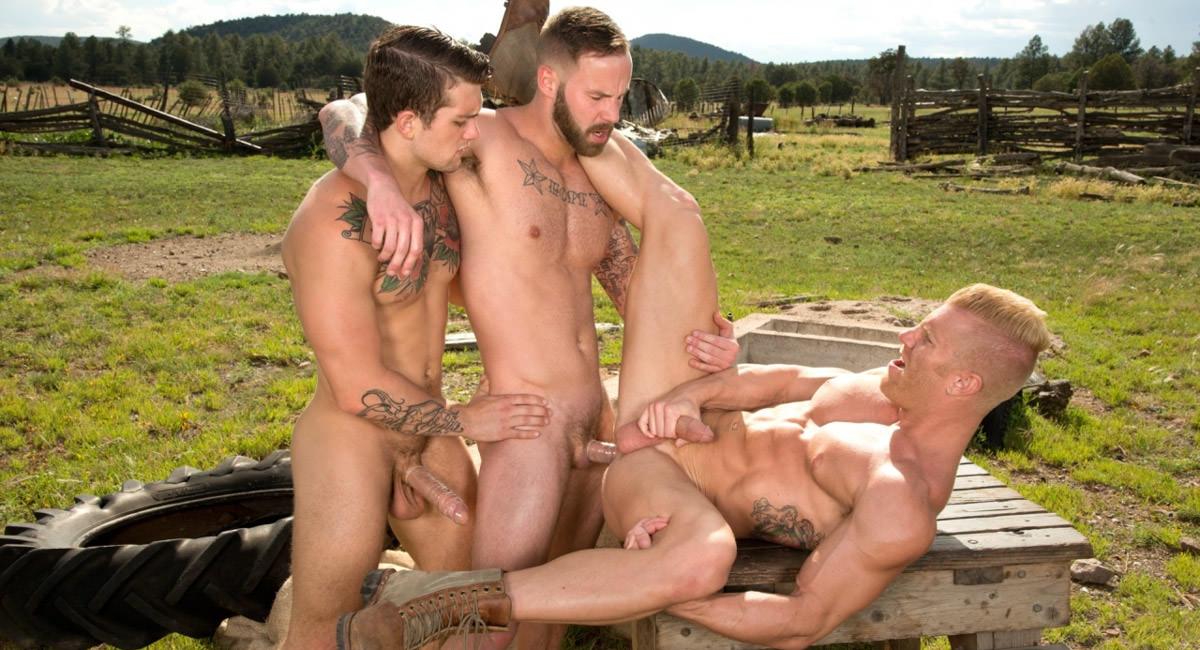 Raging Stallion: Chris Bines, Johnny V & Sebastian Kross - Total Exposure 1