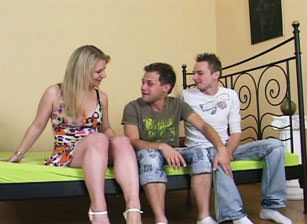 Bareback Bisex Cream Pie #12, Scene #04