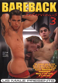 Bareback Interviews #03 DVD Cover