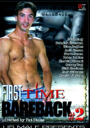 First Time Bareback #02 DVD Cover