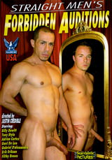 Straight Men's Forbidden Auditions Dvd Cover