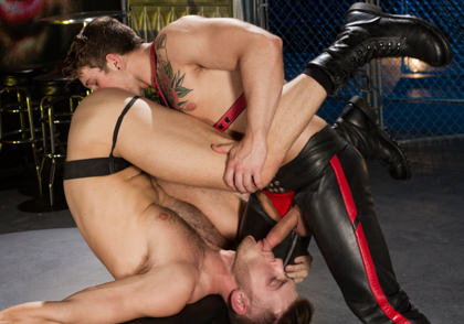 Raging Stallion: Huntin For Ass - Sebastian Kross & Jacob Peterson - The URGE