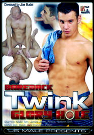 Bareback Twink Glory Hole DVD Cover