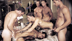 Sprung : Clint Cooper, Bryce London, Cameron Fox, Kevin Miles, Jacob Wood, Leo Bramm