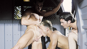 The Violation, Part 2: Surrender : Justin Dragon, Caesar, Jackson Price
