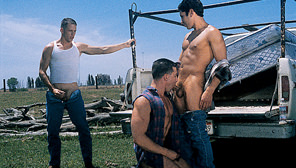 California Kings : Dale Rhodes, Jeremy Penn, Dean Edwards