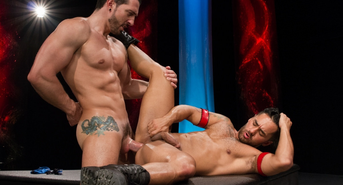 Raging Stallion: Jimmy Durano & Bruno Bernal - Fire and Ice