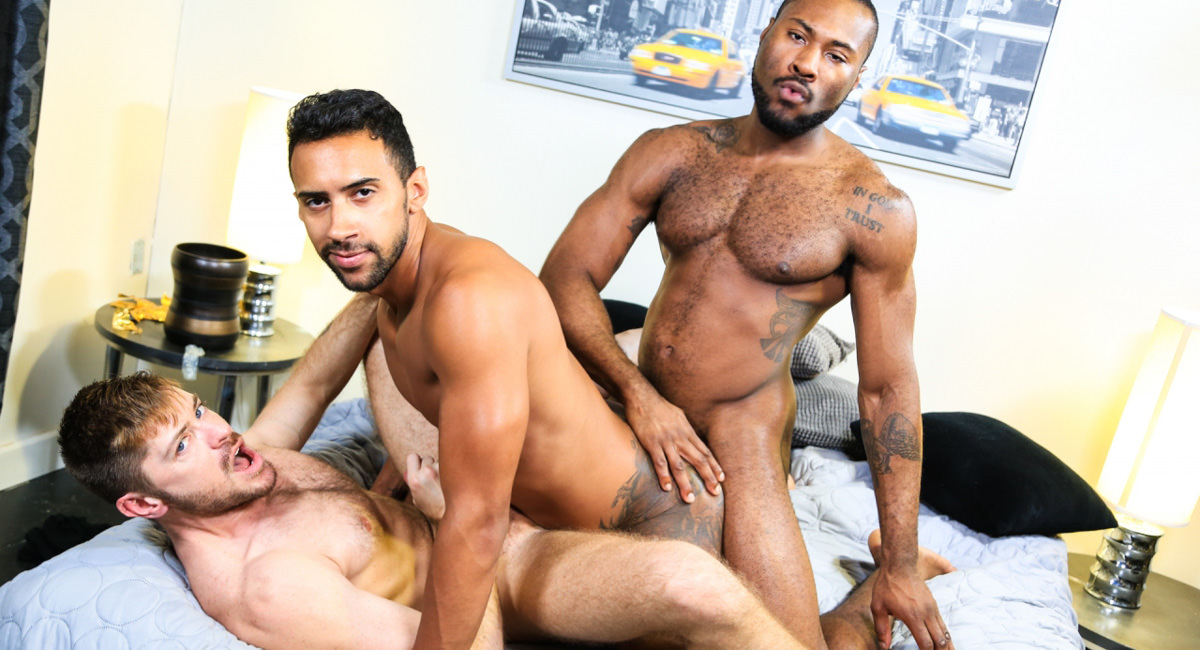 Extra Big Dicks: Jay Alexander, Noah Donovan & Jack Andy - 28 Inches Of Cock!