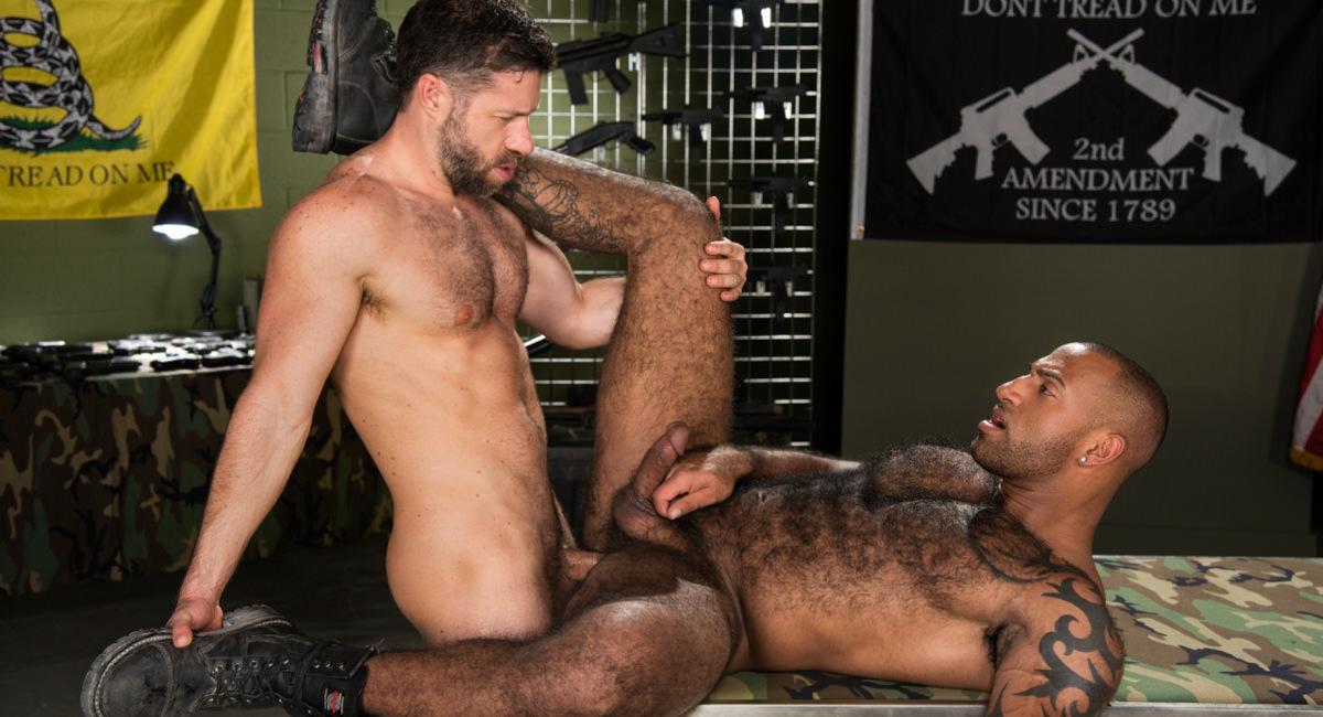 Raging Stallion: Tristan Jaxx & Daymin Voss - Gun Show