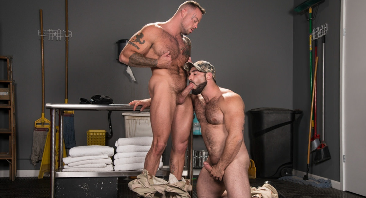 Raging Stallion: Jaxton Wheeler & Sean Duran - Gun Show
