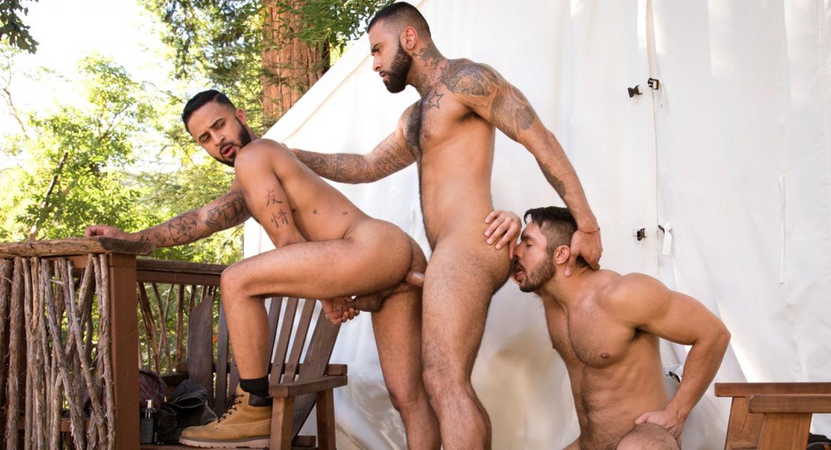 Raging Stallion: Seth Santoro, Rikk York & Damian Taylor - Trapped