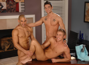 On The Set - Austin Wilde, Johnny Torque, Andrew Jakk