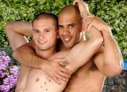 On The Set - Austin Wilde & Anthony Romero